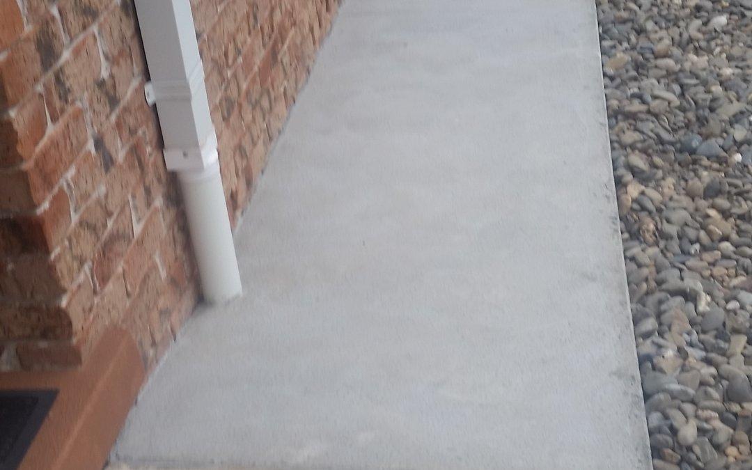 Poor drainage rectified Boambee- East January 2019