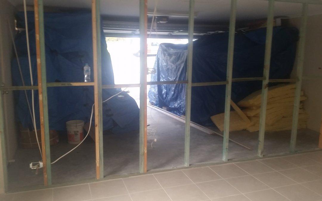 Work order to Rebuild a damaged wall Toormina May 2019
