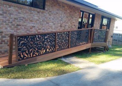 Hardwood Timber Access Ramp Boambee East June 2019