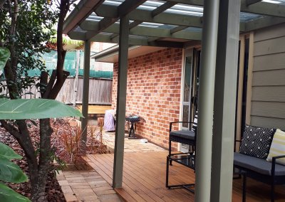 New Deck and Pergola Boambee East- NSW April 2020